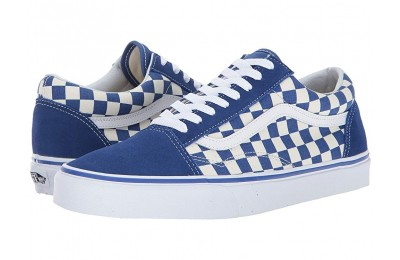 [ Black Friday 2019 ] Vans Old Skool™ (Primary Check) True Blue/White