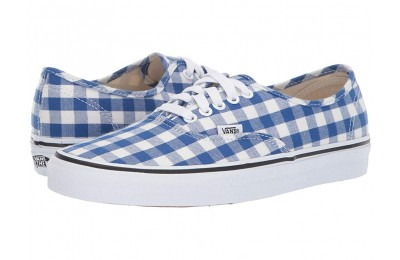 Vans Authentic™ (Gingham) True Blue/True White Black Friday Sale