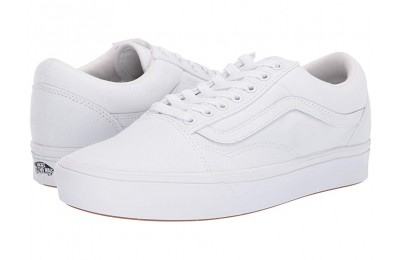 Buy Vans Comfycush Old Skool (Classic) True White/True White