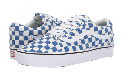Vans Comfycush Old Skool (Checker) Lapis Blue/True White Black Friday Sale