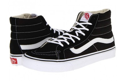 [ Hot Deals ] Vans Sk8-Hi Slim™ Core Classics Black/White