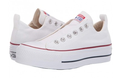 Hot Sale Converse Chuck Taylor® All Star® Lift Slip Ox White/Red/Blue
