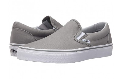 [ Hot Deals ] Vans Classic Slip-On™ Wild Dove/True White