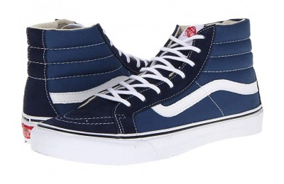 [ Hot Deals ] Vans Sk8-Hi Slim™ Core Classics Navy/White