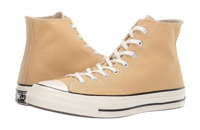 [ Hot Deals ] Converse Chuck Taylor® 70 - Vintage Canvas Hi Club Gold/Egret