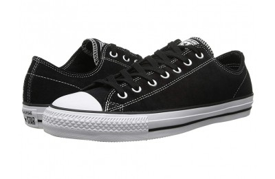 [ Hot Deals ] Converse Skate CTAS Pro Ox Skate (Suede) Black/White 2