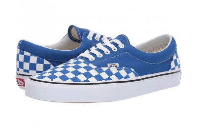 Vans Era™ (Checkerboard) Lapis Blue/True White Black Friday Sale