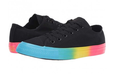 [ Hot Deals ] Converse Chuck Taylor All Star - Ox Black/Gnarly Blue/Racer Pink