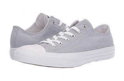 [ Hot Deals ] Converse Chuck Taylor® All Star® Court Fade Ox Wolf Grey/White/White