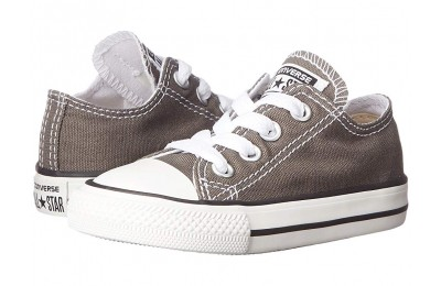 [ Hot Deals ] Converse Kids Chuck Taylor® All Star® Core Ox (Infant/Toddler) Charcoal