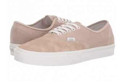 [ Hot Deals ] Vans Authentic™ (Washed Nubuck/Canvas) Humus/Blanc