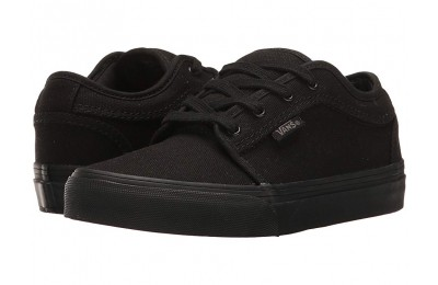 [ Hot Deals ] Vans Kids Chukka Low (Little Kid/Big Kid) Blackout
