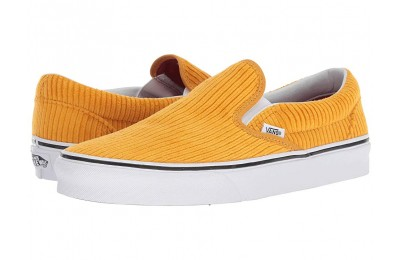 [ Hot Deals ] Vans Classic Slip-On (Design Assembly) Sunflower/True White