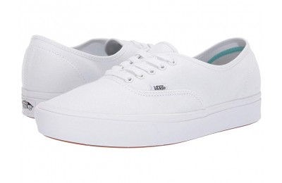Christmas Deals 2019 - Vans ComfyCush Authentic (Classic) True White/True White