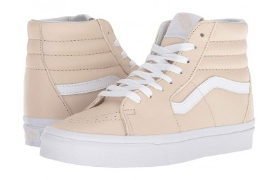 [ Hot Deals ] Vans SK8-Hi™ (Leather) Sand Dollar