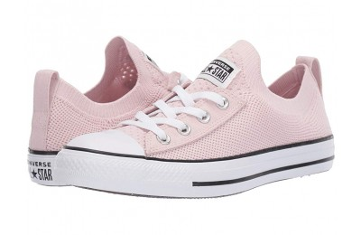 [ Hot Deals ] Converse Chuck Taylor All Star Shoreline Knit Barely Rose/White/Black