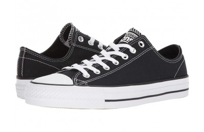 Christmas Deals 2019 - Converse Skate CTAS Pro Ox Skate (Canvas) Black/Black/White 2