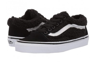 [ Black Friday 2019 ] Vans Old Skool (Sherpa) Black