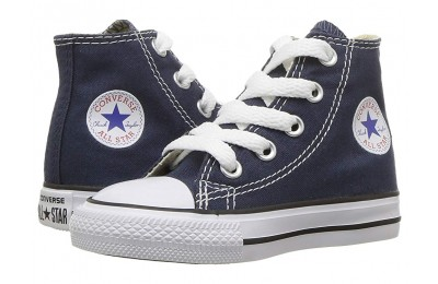 [ Hot Deals ] Converse Kids Chuck Taylor® All Star® Core Hi (Infant/Toddler) Navy
