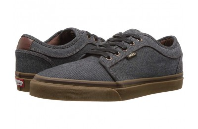 [ Hot Deals ] Vans Chukka Low (Oxford) Black/Gum
