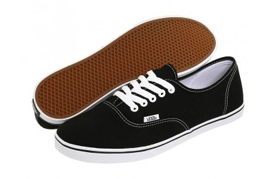 [ Hot Deals ] Vans Authentic™ Lo Pro Black/True White