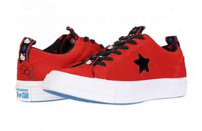 Christmas Deals 2019 - Converse Hello Kitty® One Star Ox Firey Red/Black