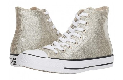 [ Hot Deals ] Converse Chuck Taylor All Star - Wonderworld Hi Light Gold/Light Gold/White