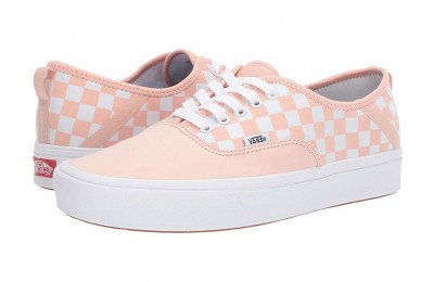 [ Hot Deals ] Vans ComfyCush Authentic SF (Checker) Spanish Villa/White