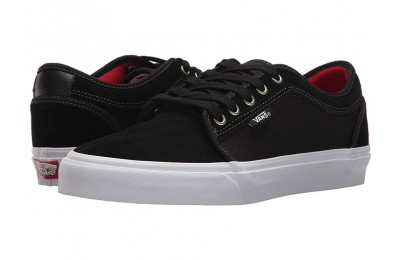 [ Hot Deals ] Vans Chukka Low Black/White/Chili Pepper