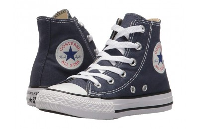 Christmas Deals 2019 - Converse Kids Chuck Taylor® All Star® Core Hi (Little Kid) Navy