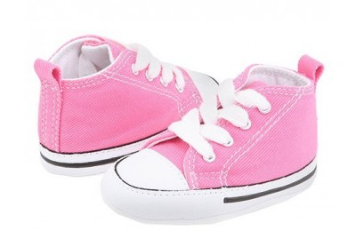 Black Friday Converse Kids Chuck Taylor® First Star Core Crib (Infant/Toddler) Pink Sale