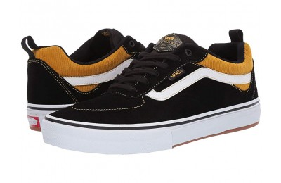 [ Hot Deals ] Vans Kyle Walker Pro (Corduroy) Black/Yolk Yellow