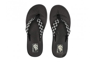 [ Hot Deals ] Vans Nexpa Synthetic (Distressed Checkerboard) Black