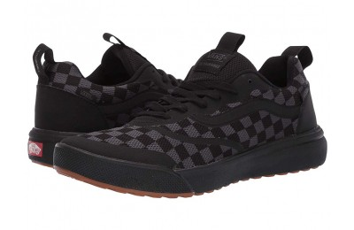 Vans UltraRange Rapidweld (Checkerboard) Ebony/Black Black Friday Sale
