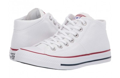 [ Hot Deals ] Converse Chuck Taylor® All Star® Madison True Faves Mid White/White/White