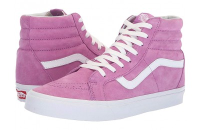[ Hot Deals ] Vans SK8-Hi Reissue (Pig Suede) Violet/True White