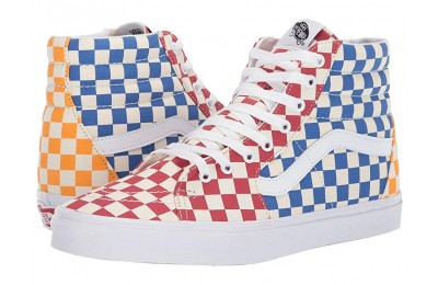 [ Hot Deals ] Vans SK8-Hi™ (Checkerboard) Multi/True White