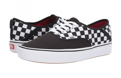 Vans ComfyCush Authentic SF (2 Tone) Black/Checkerboard Black Friday Sale