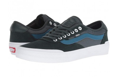 [ Hot Deals ] Vans Chima Pro 2 (Mesh) Darkest Spruce/True White
