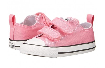 [ Hot Deals ] Converse Kids Chuck Taylor 2V Ox (Infant/Toddler) Pink