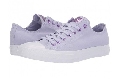 Black Friday Converse Chuck Taylor® All Star® Hearts Ox Oxygen Purple/Washed Lilac/White Sale