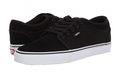 Buy Vans Chukka Low (Suede) Black/True White