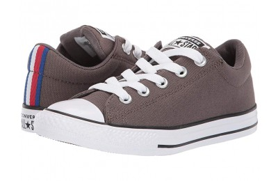 Converse Kids Chuck Taylor All Star Street Sport Webbing - Slip (Little Kid/Big Kid) Ridgerock/Black/White