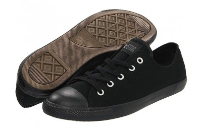 [ Hot Deals ] Converse Chuck Taylor® All Star® Dainty Ox Black Mono