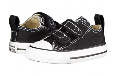 [ Hot Deals ] Converse Kids Chuck Taylor® 2V Ox (Infant/Toddler) Black