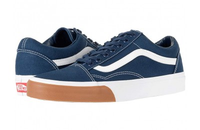 [ Hot Deals ] Vans Old Skool™ (Gum Bumper) Dress Blues/True White