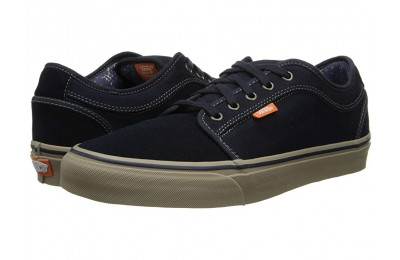 [ Hot Deals ] Vans Chukka Low Navy/Warm Grey