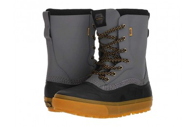 [ Hot Deals ] Vans Standard™ Snow Boot '18 Black/Grey (Pat Moore)