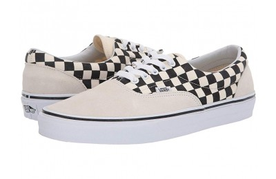 Vans Era™ (Primary Check) Marshmallow/Black Black Friday Sale