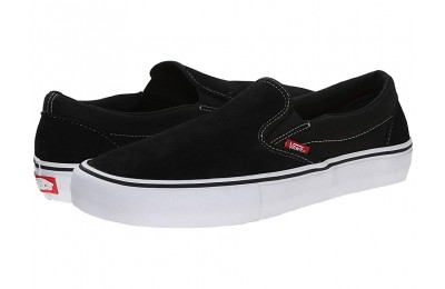 Christmas Deals 2019 - Vans Slip-On Pro Black/White/Gum